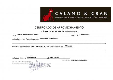 Business storytelling (Cálamo y Cran))